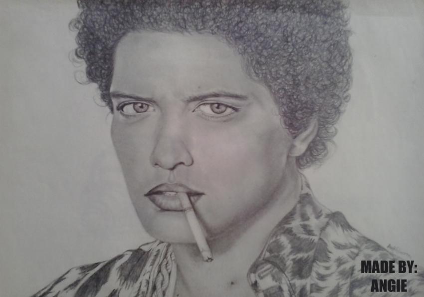 Bruno Mars by Anngie